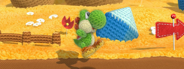 Yoshi's Wooly World - Taken from the article Christmas with Nintendo for kids young and old by DannyUK.com