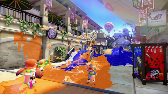 Splatoon - Taken from the article Christmas with Nintendo for kids young and old by DannyUK.com