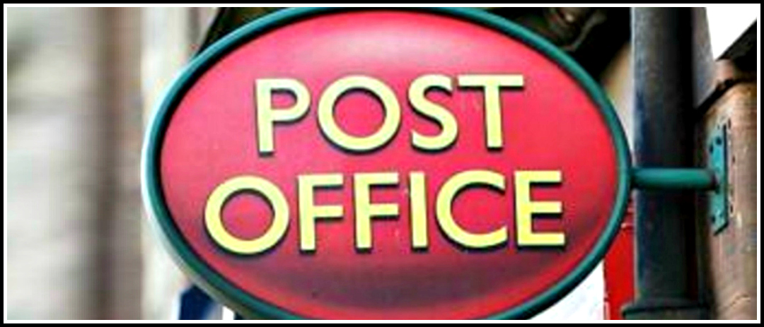 Chelmsford Post Office opening sign