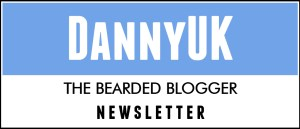 DannyUK Newsletter header