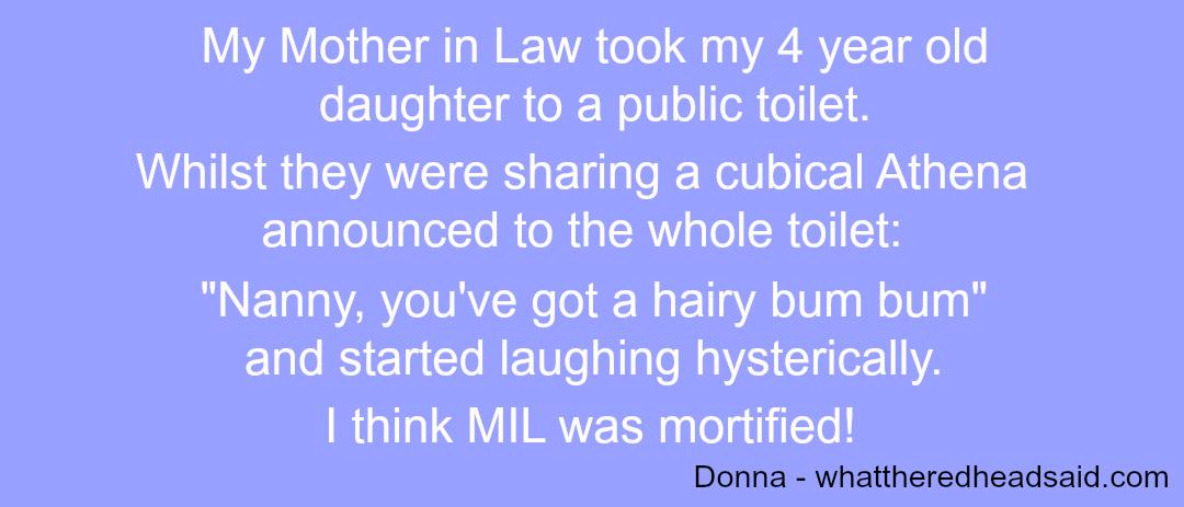 Embarrassing Children - Donna - Taken from a DannyUK.com article