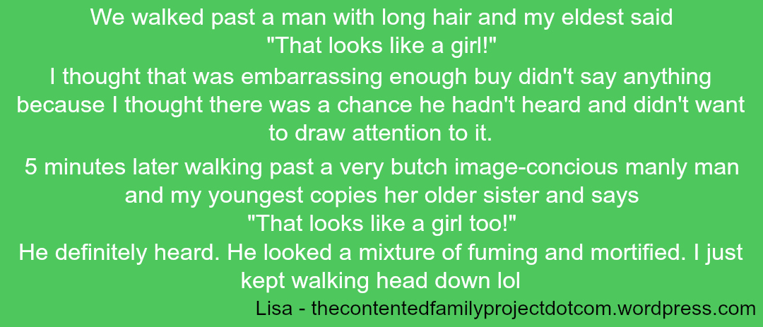Embarrassing Children - Lisa 2 - Taken from a DannyUK.com article