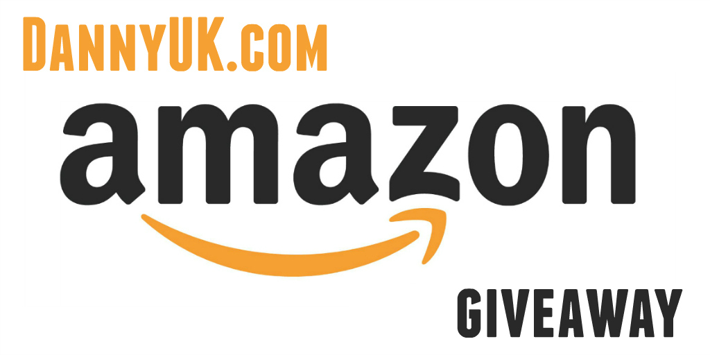 Amazon voucher giveaway header - Taken from a DannyUK.com Amazon giveaway