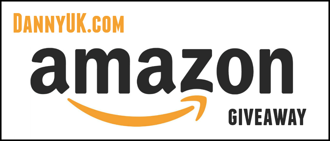 Amazon voucher giveaway header - taken from a DannyUK.com giveaway