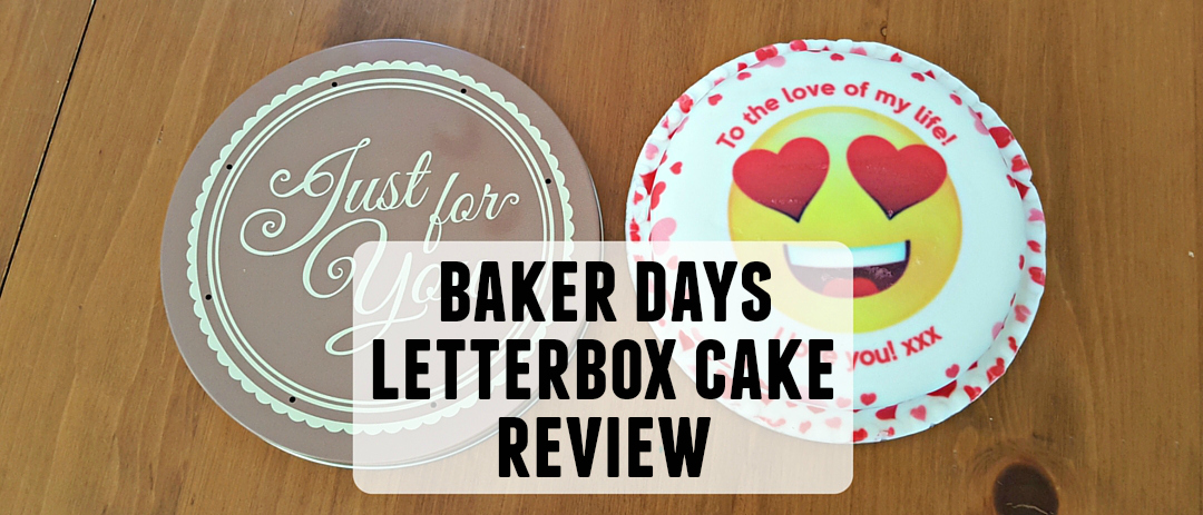 Baker Days review: Letterbox cake