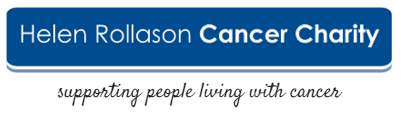 Helen Rollason Cancer charity logo - Spire Chelmsford's charity of the year