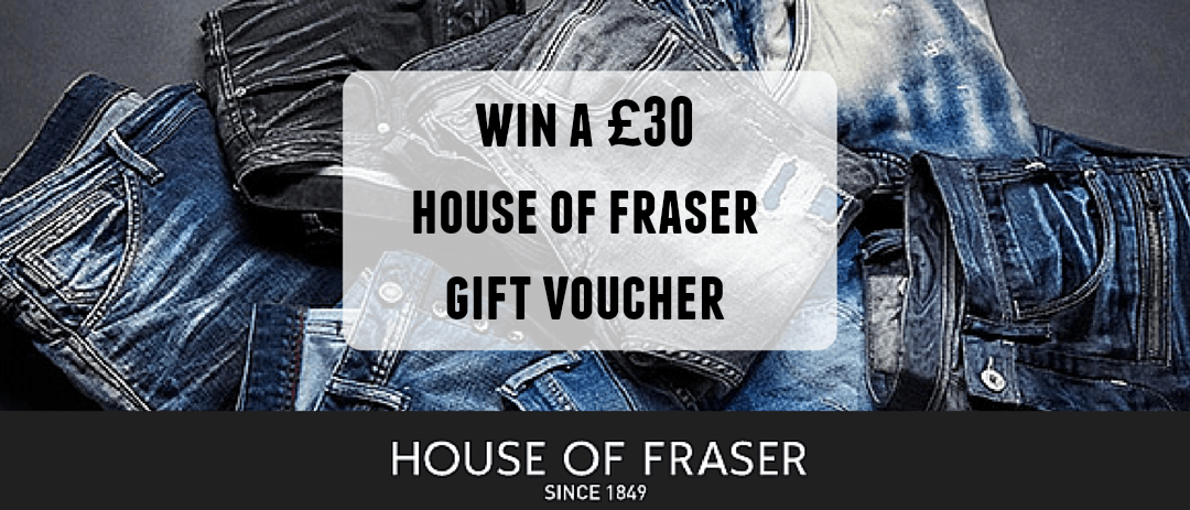 Giveaway: Win a House of Fraser Gift Voucher worth £30
