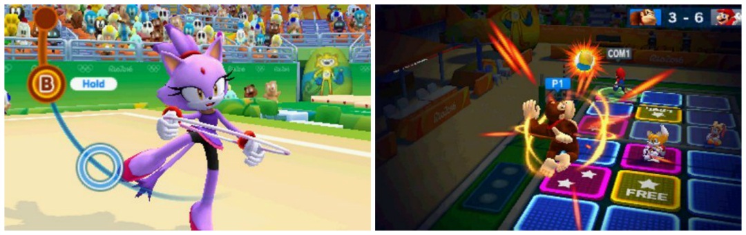 Mario & Sonic At The Rio 2016 Olympic Games - Screenshots from Amazon