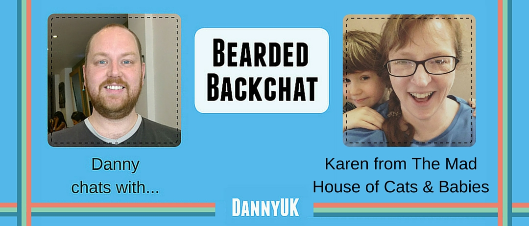 Bearded Backchat: The Mad House of Cats & Babies' Karen