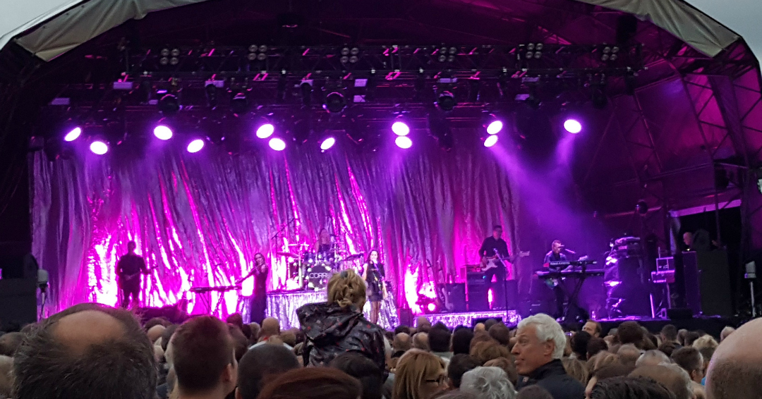 The Corrs at Epsom