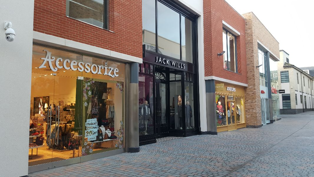 Accessorize, Jack Wills and Joules