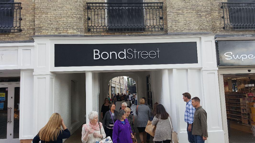 Bond Street, Chelmsford - High St entrance