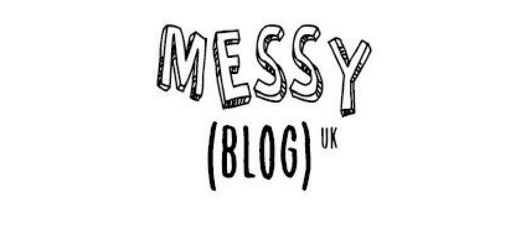 Messy Blog UK logo header