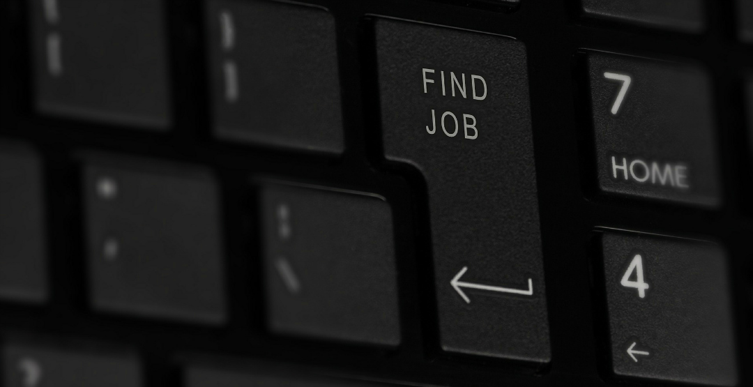 Find job button - tips for job hunters