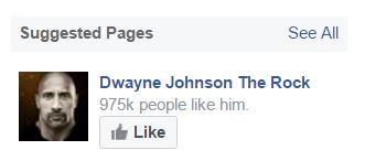 Dwayne Johnson - People like him