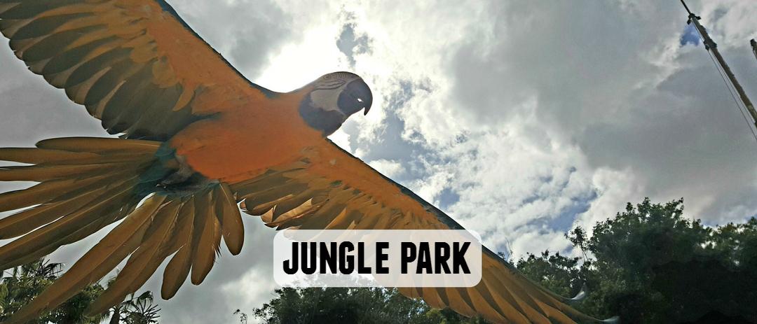 Jungle Park zoo in Tenerife