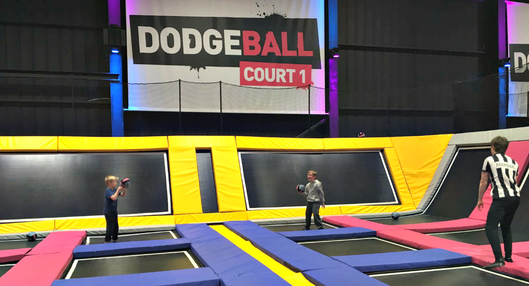 Dodgeball at Jump Street Chelmsford - You'd benefit from the Jump Street discount if you were bringing a team here!
