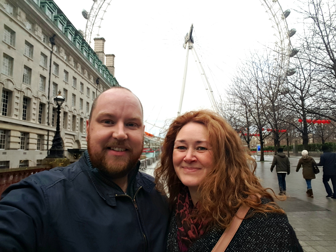 Just the two of us - My Sunday Photo - London Eye