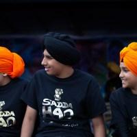 Snapshots of Sikh Boys and Girls at Varsakhi