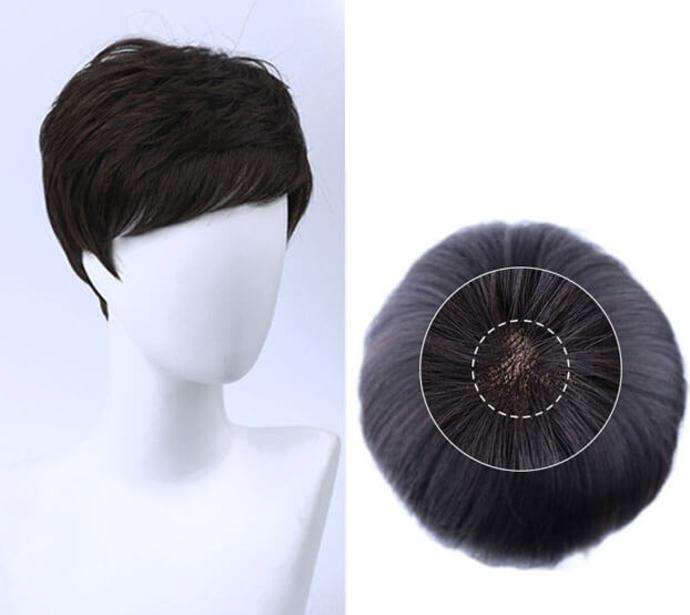tóc giả nam