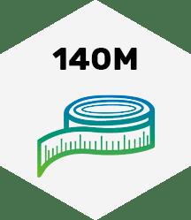 140 Meter