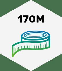 170 Meter