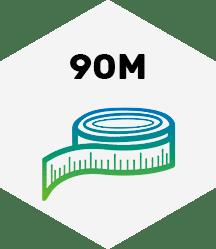 90 Meter
