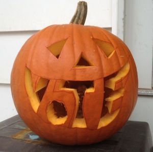 The Great Pumpkin Says VOTE