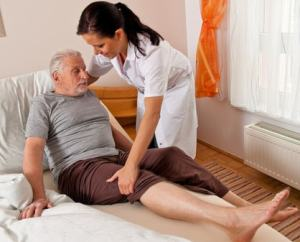 bedsore caused by neglect in nursing home