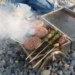 Burgers and kebabs