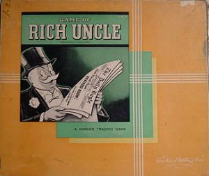 Rich Uncle; a 1940s Parker Bros' game.