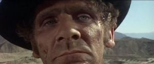 Opening scene of The Good, The Bad, And The Ugly.