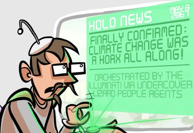 Optipess: Climate Change Was A Hoax