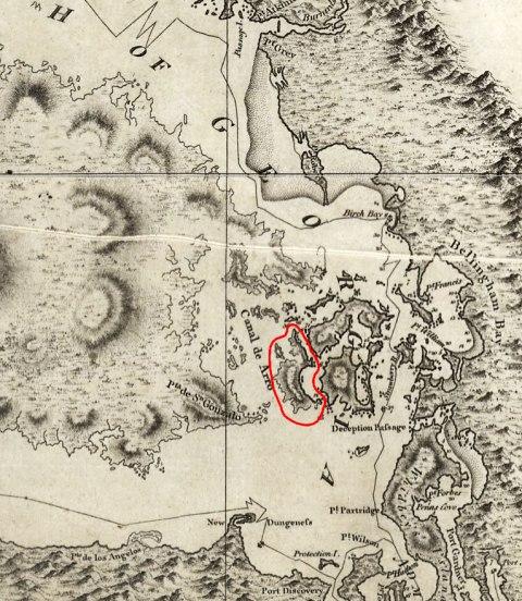An early map of San Juan