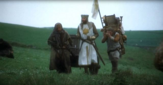 Monty Python and the Quest for the Holy Grail.