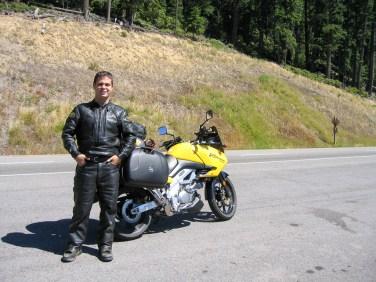 Oregon-58 crossing the Cascades.