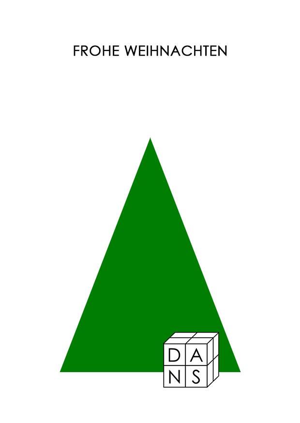 DANS Architektur Weihnachtskarte 2019