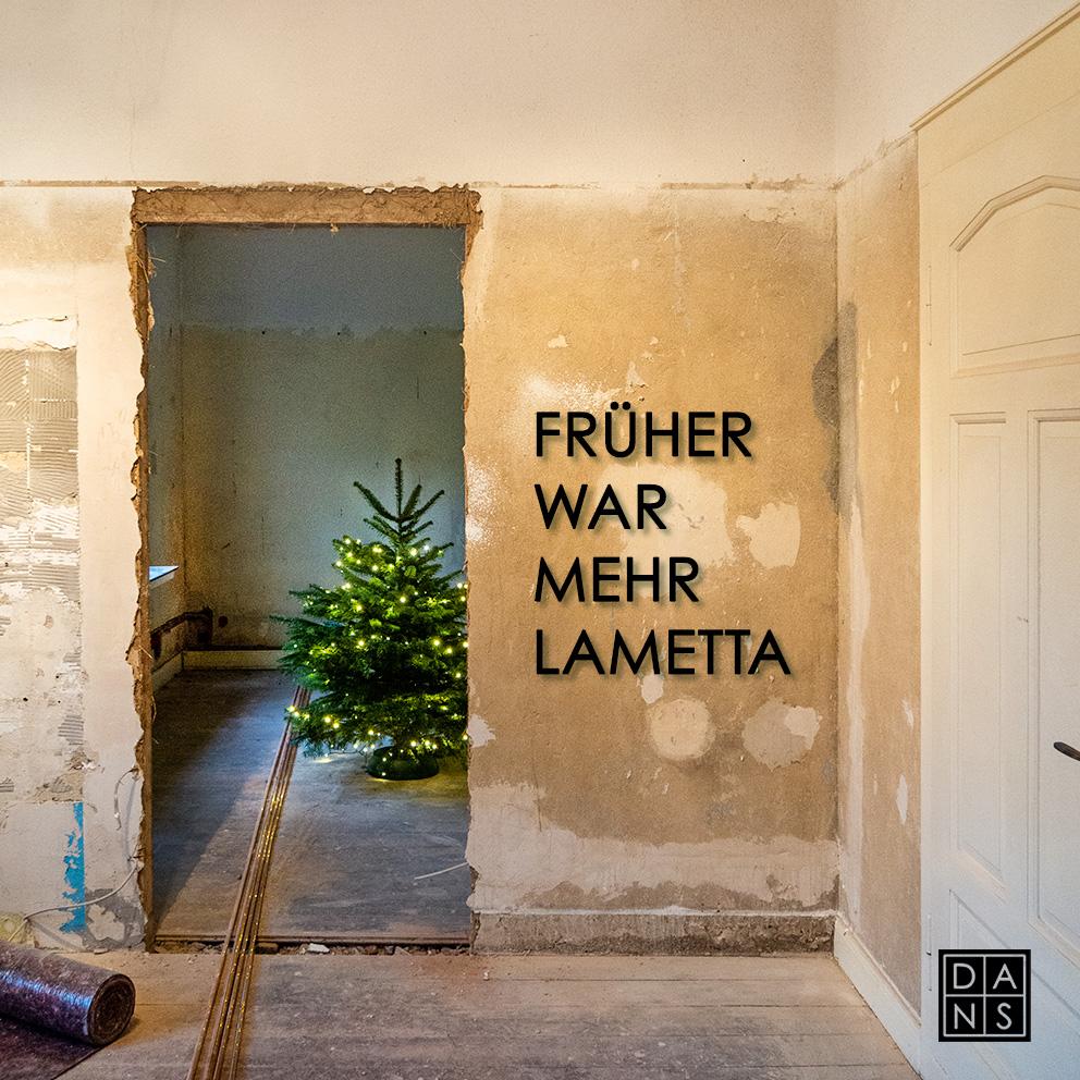 DANS Architektur Weihnachtskarte 2020