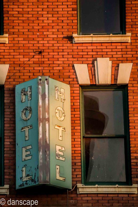 Otis Hotel Sign