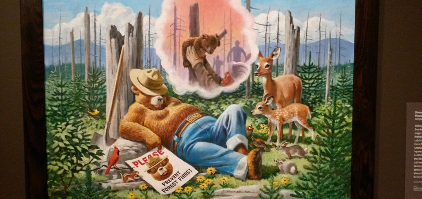 Dream of a Well-Remembered Forest Fire.
