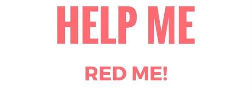 Red me dan! Help me dan! Ik kan het niet alleen!