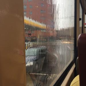 regen in tram