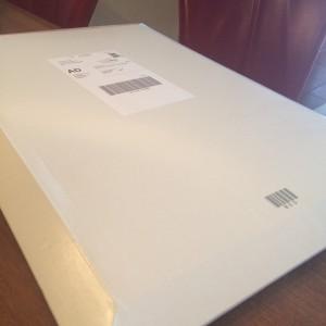 pakketje foto canvas envelop