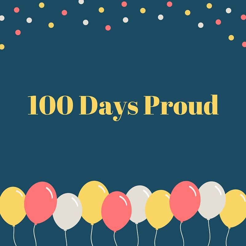 #100DaysProud – deel 2