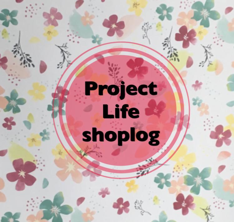 Project Life shoplog!