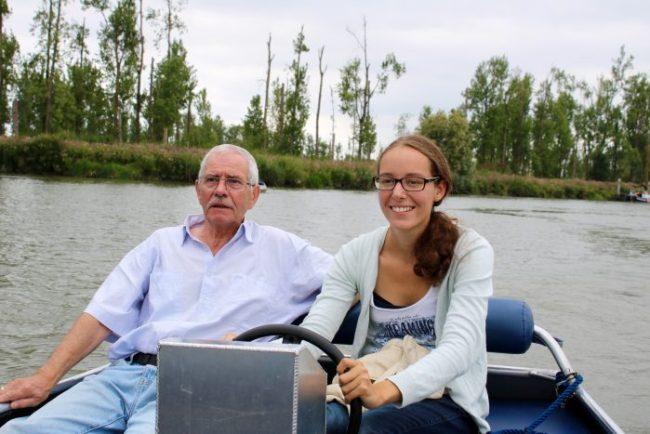 Opa en ik waren kapitein.