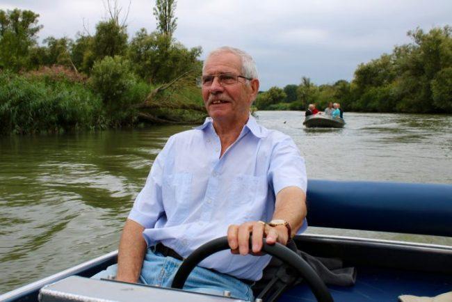Opa was een iets kalmere kapitein dan ik.. ;-)