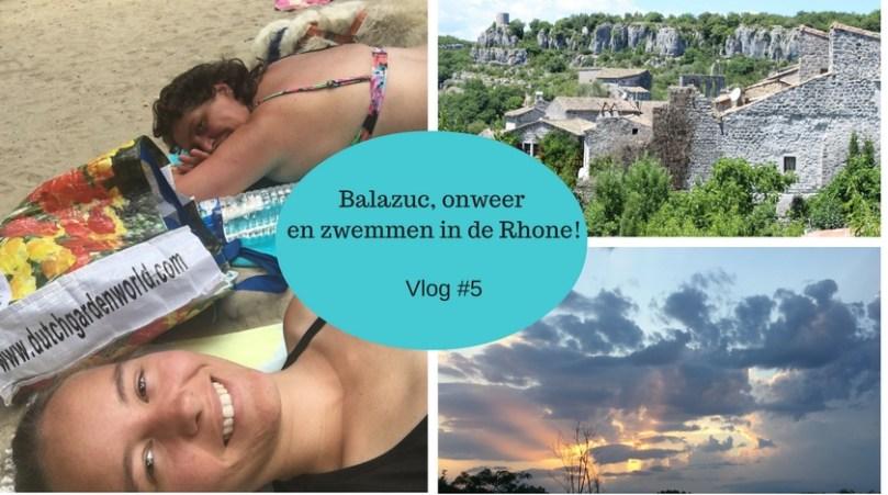La douce France #5: Balazuc, uitrusten en haal ik de overkant?