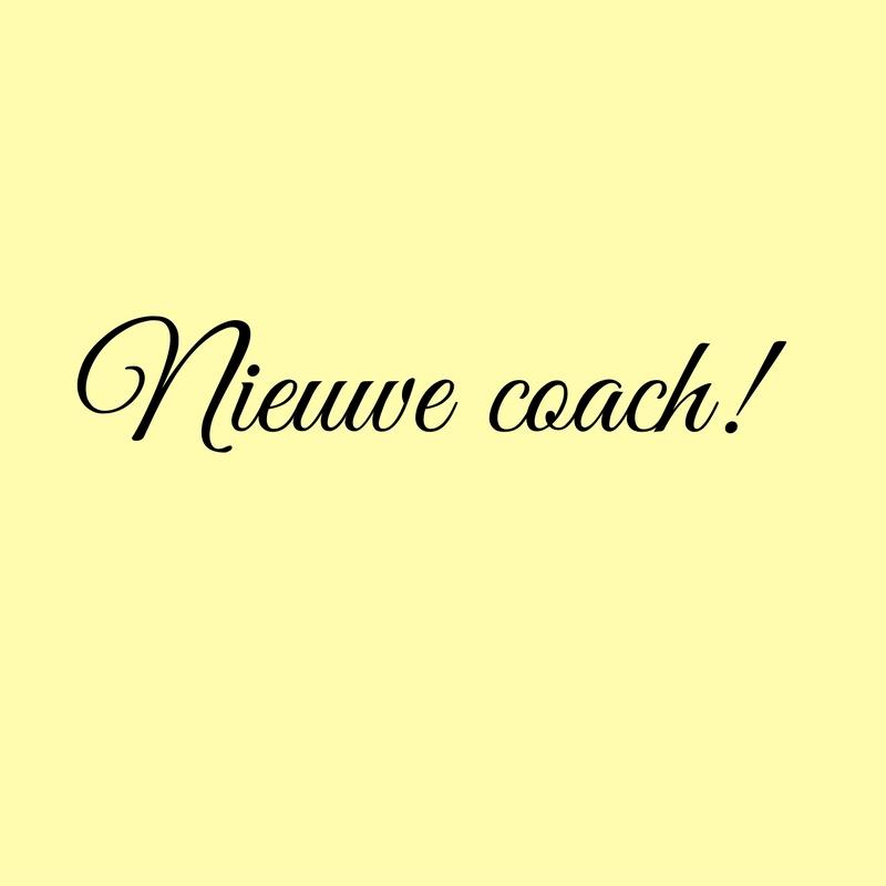Mijn nieuwe coach
