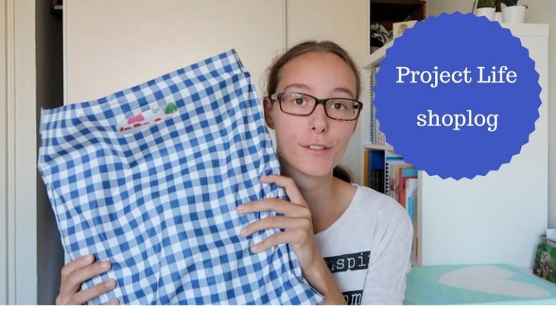 VIDEO: Project Life shoplog